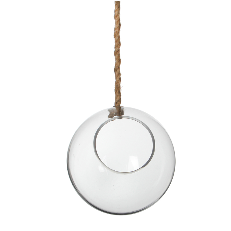 Deco sklen. Ball hanging P 22,5 cm